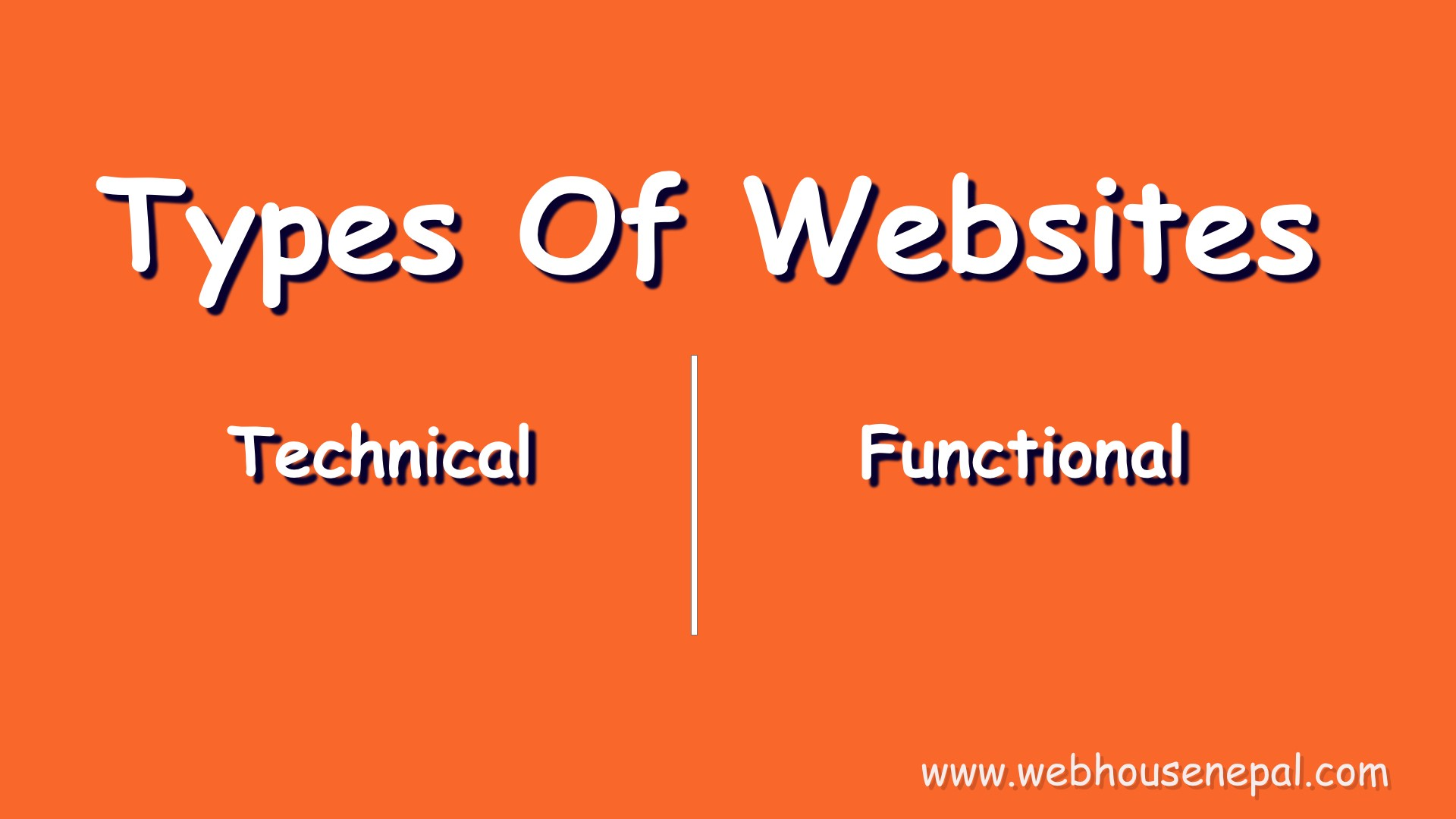 types of website with example